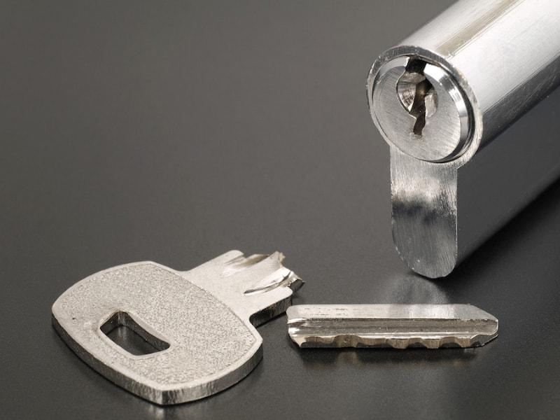 Broken Key and Lock