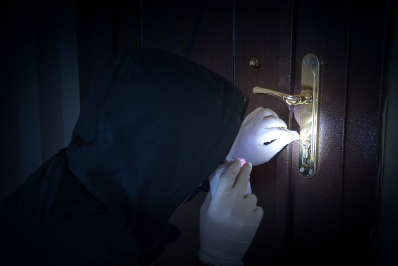 Burglar Lock Picking