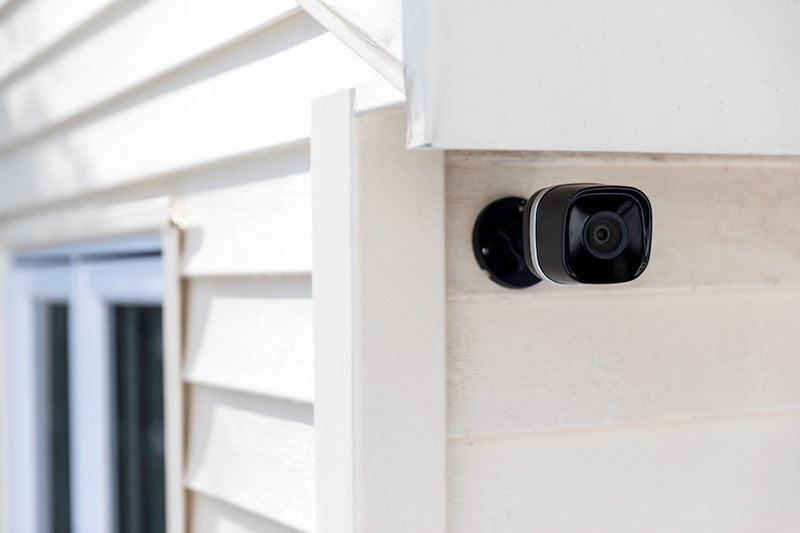 security camera on the outside of a house, Can Privacy Be Found With Home Security Cameras?